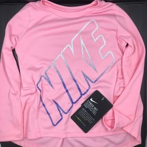 Girls Nike Dri-Fit 2 Piece Set Size: 2T